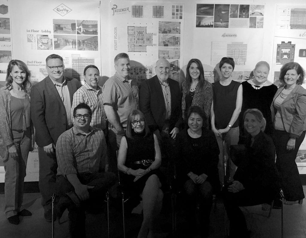 Advocacy Board and Faculty bw spring