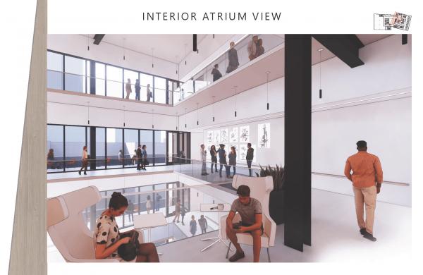 Bethany Saltzman OCAD Interior Atrium